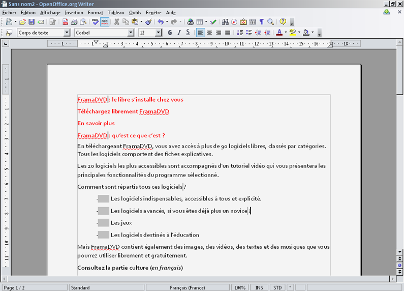 Ooo writer 3 2 1 site web - Logiciel comme open office ...